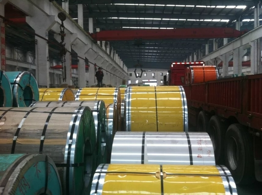 ประเทศจีน High resistant 316L Cold rolled Stainless Steel Strip Coil / Stainless Steel Diamond Plate ผู้ผลิต