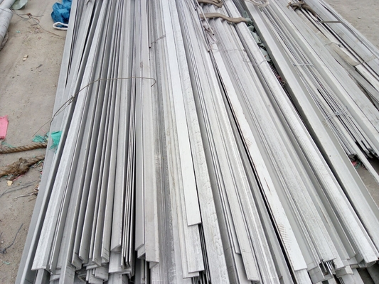 ประเทศจีน Aisi 304 Astm 304 Stainless Steel Flat Bar For Construction Material , SS Flat Bar ผู้ผลิต