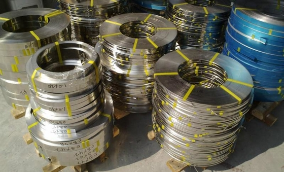 ประเทศจีน SUS 304 316 Bright Annealed BA Stainless Steel Coil , Stainless Steel Strips ผู้ผลิต