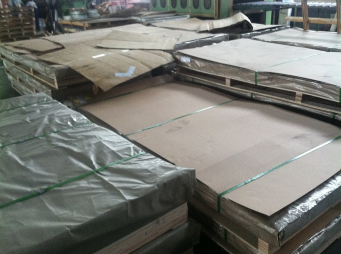 0.18mm - 2.1mm 304 409 Super Duplex Stainless Steel Plate For Decoration